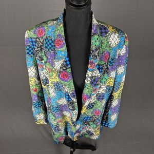 Vintage Colorful Blazer (B6)